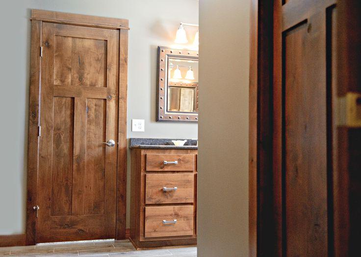 16 best brosco doors images on pinterest indoor gates - Knotty alder interior doors sale ...