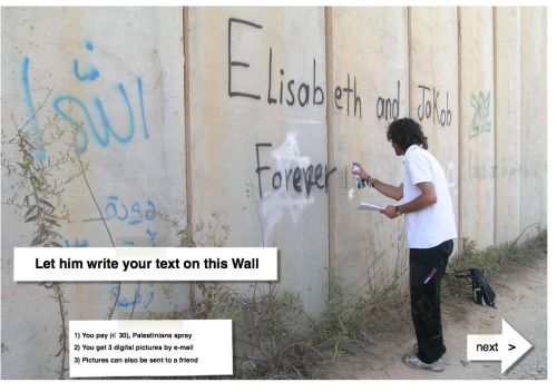 Tag the West Bank Wall