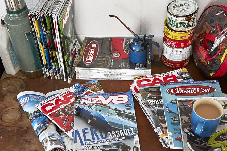 Our favourite car magazines you can relax with during your tea break #flybuysnz