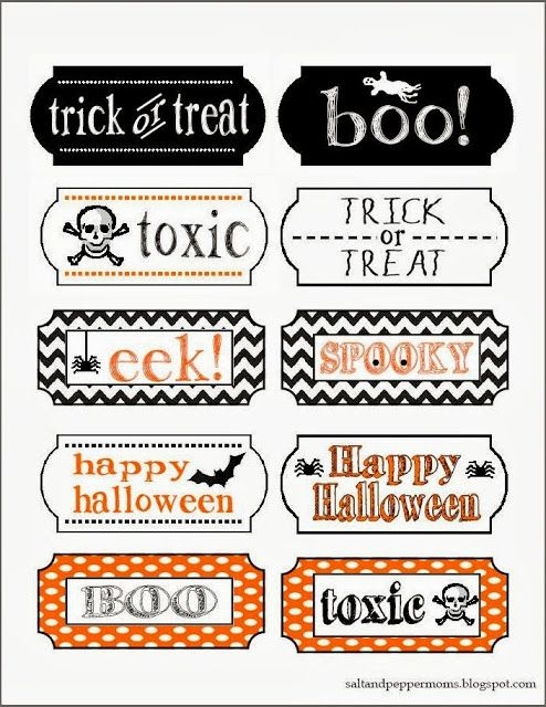 fall halloween tag