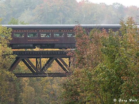 The Credit Valley Explorer is a wonderful way to see Caledon.
