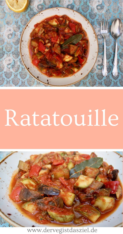 Ratatouille, Rezept, vegan, glutenfrei