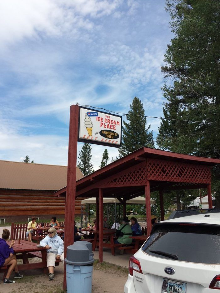 2. The Ice Cream Place, Seeley Lake