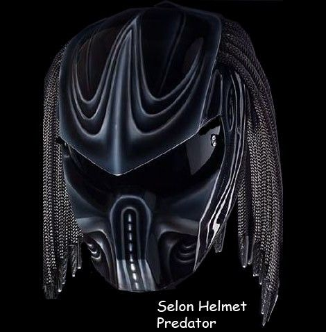Predator helmets Basic Helm KYT Certificate DOT, Full Face Surely that's been with the National Indonesia (SNI) Additional accessories such as Laser with on / off switch is up to 30 meters. »To...@ artfire