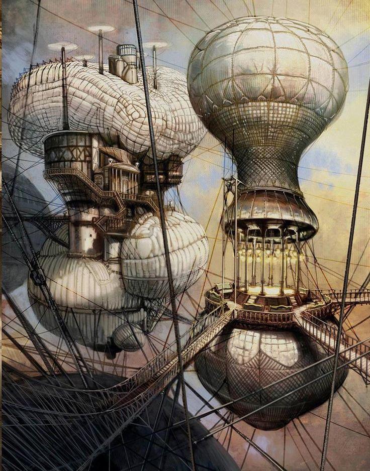 Illustration by Nicolas Fructus / steampunktendencies