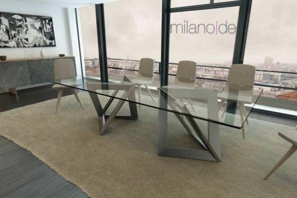 """""""Κοφτερός"""" σχεδιασμός, φουτουριστικό design & #industrial γραμμές, συνθέτουν ένα μοναδικό αποτέλεσμα. #Τραπέζι Aperture από τη Milanode, με μια απλή, αλλά ταυτόχρονα περίτεχνη γεωμετρία , σε μεγάλη ποικιλία αποχρώσεων και διαστάσεων.   https://www.milanode.gr/product/gr/2584/trapezi_aperture_no1.html"""