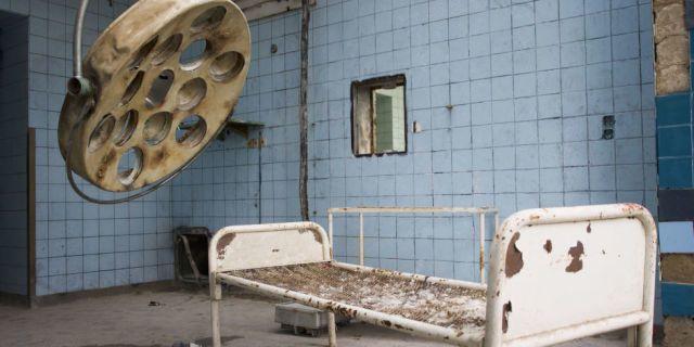Dit zijn 18 griezelige foto's van een verlaten nazi-ziekenhuis