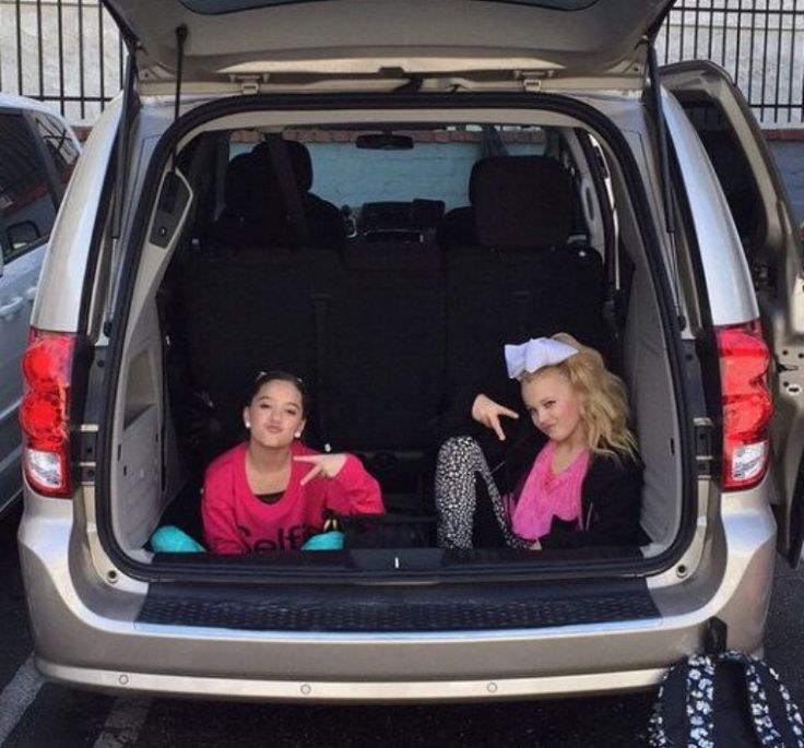 mackenzie and jojo in a car | dance moms | Dance moms ...