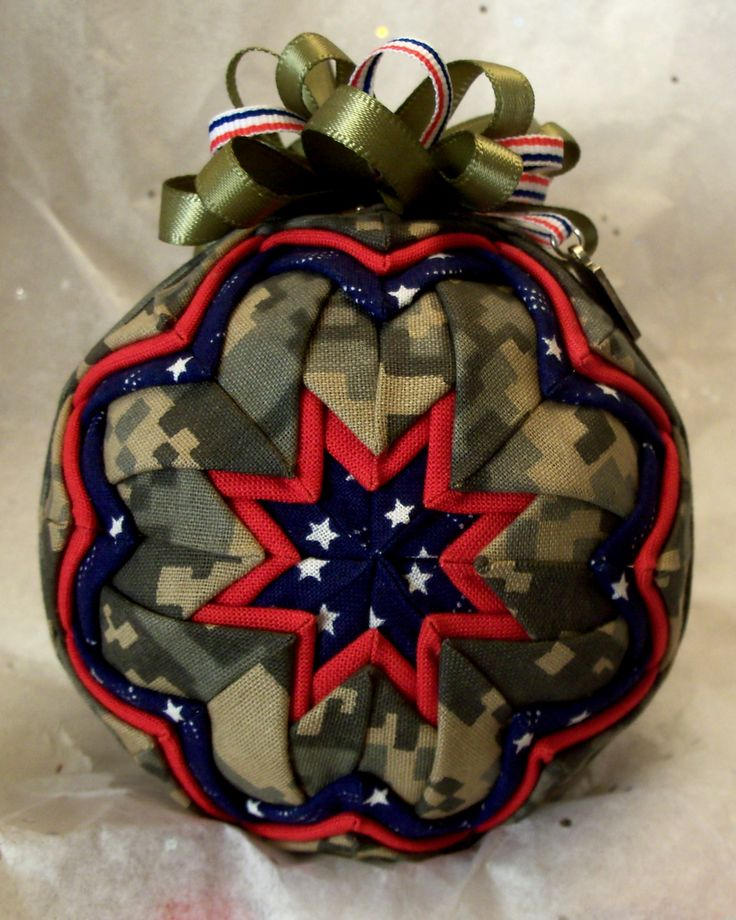 Prairie Creations Ornaments – Military Style Army Ornaments
