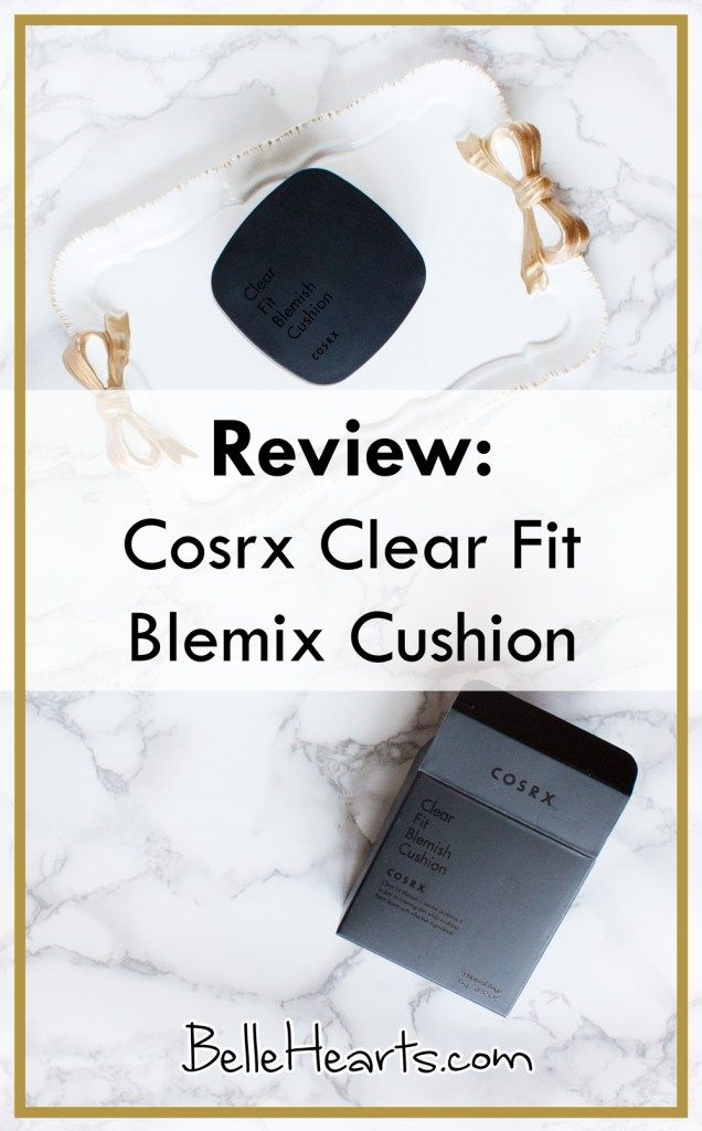 Review: Cosrx Clear Fit Blemish Cushion