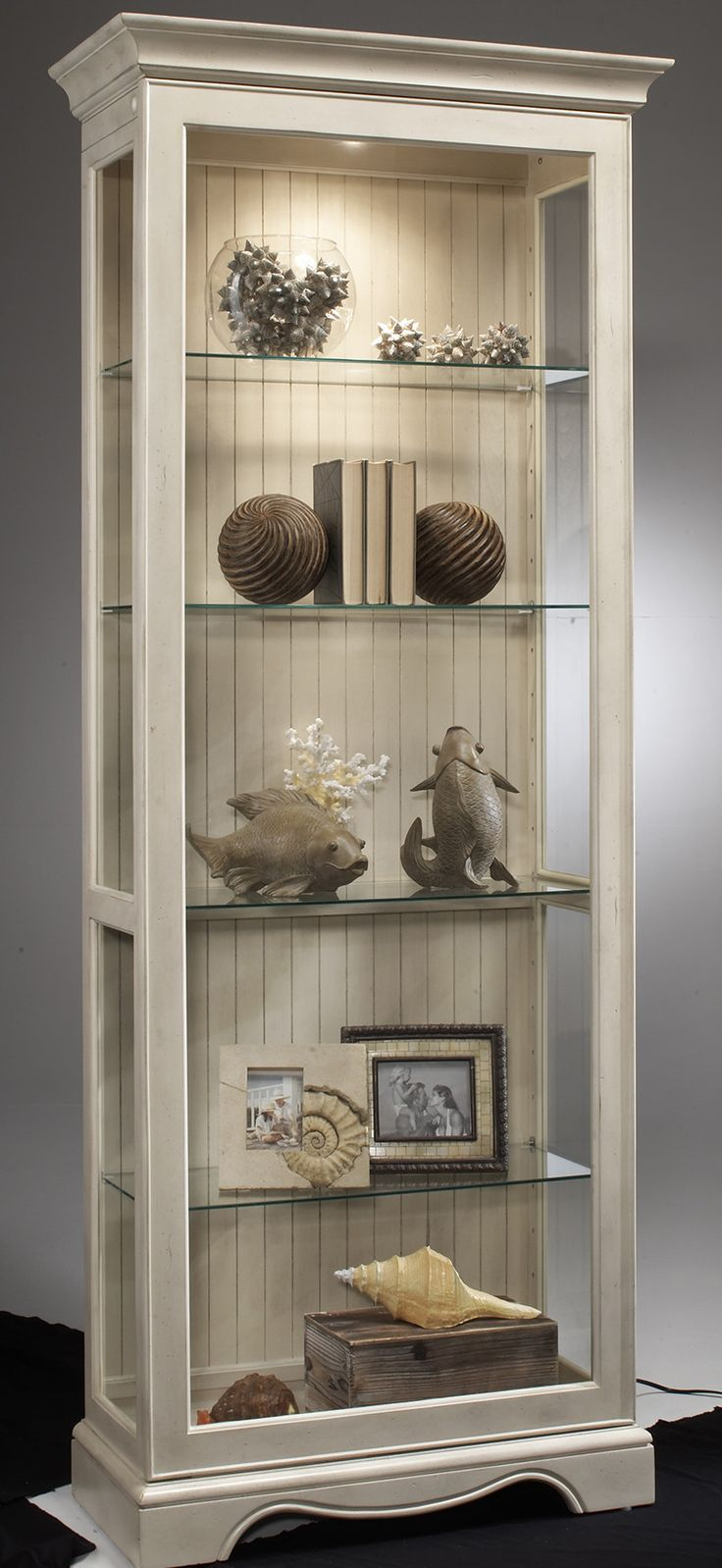 Philip Reinisch Co. ColorTime Ambience Curio Cabinet & Reviews | Wayfair