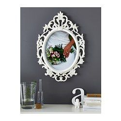 UNG DRILL Frame - IKEA... this frame would also look great included in my wall collage.