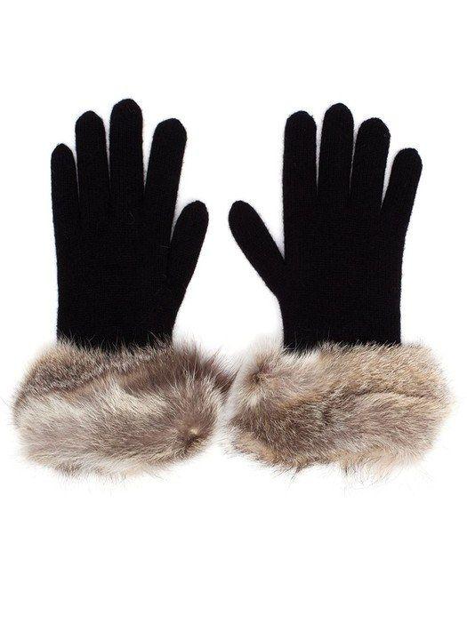 Inverni Fur Trim Gloves (farfetch.com, $275.98)