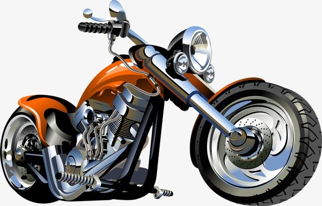 Vector Motorcycle Motorcycle Cartoon Motorcycle Png And Vector