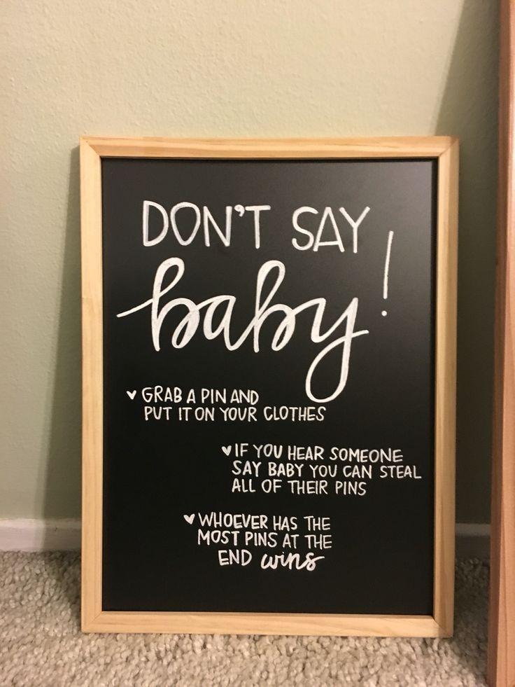 Best 25+ Baby shower chalkboard ideas on Pinterest | Baby ...