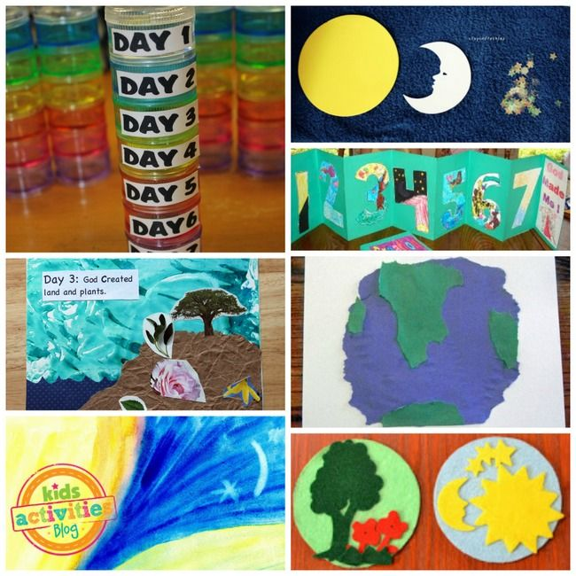 Creation Crafts and Activities: Great Art and Craft resource focusing on the 7 Days of Creation