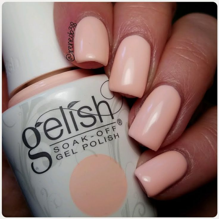 Irene Creates This Swoon Worthy Mani With Her Gifted Gelish Soak Off Gel Polish In All About The Pout Design Limited Edition Shade