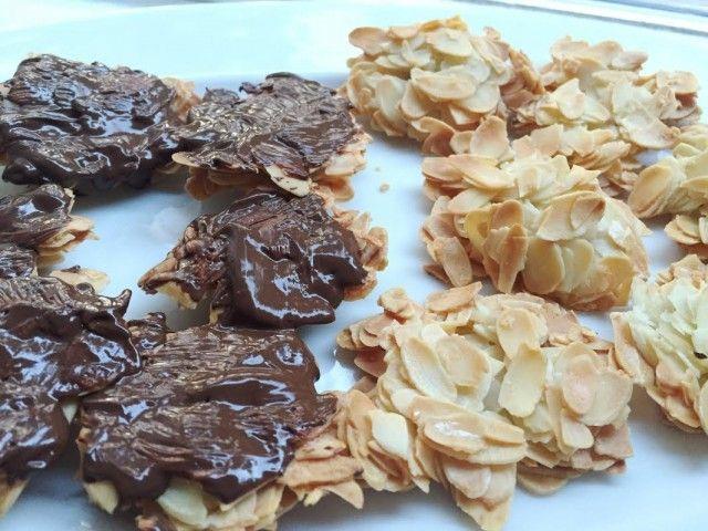 Amandelschaafsel met eiwit, gezonde snack