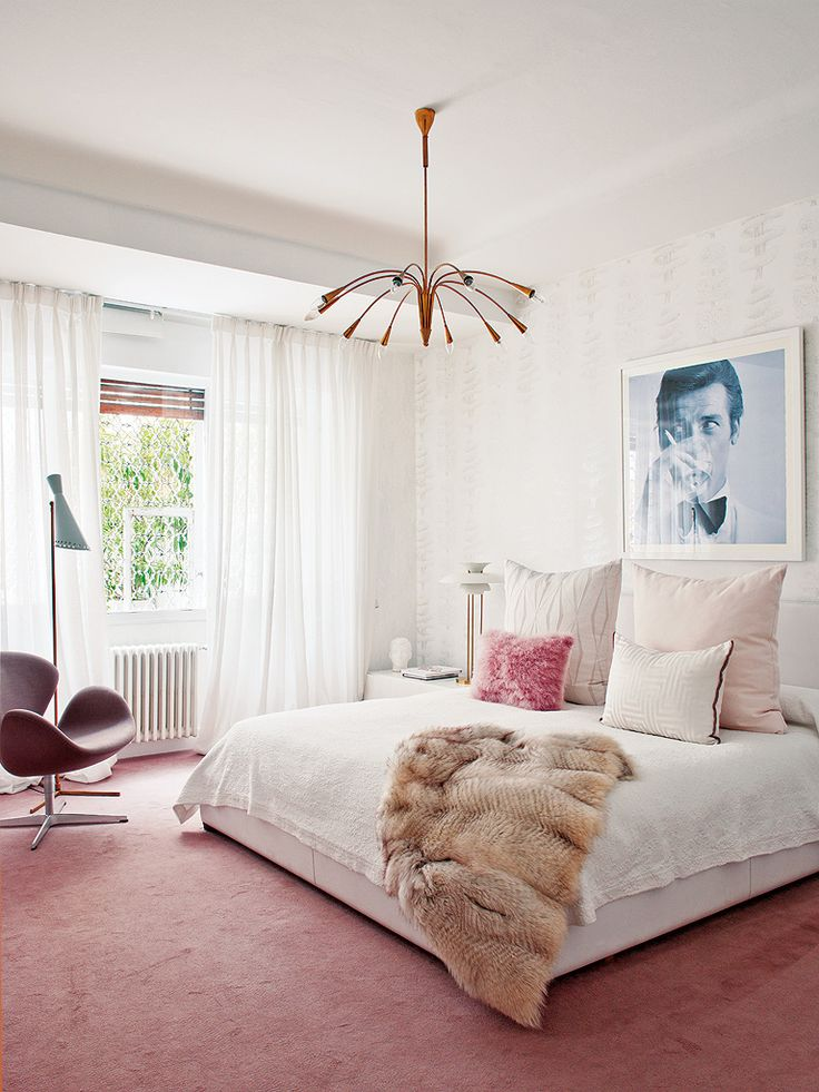 Modern Bedroom Pink 371 best bedrooms images on pinterest | bedrooms, room and guest