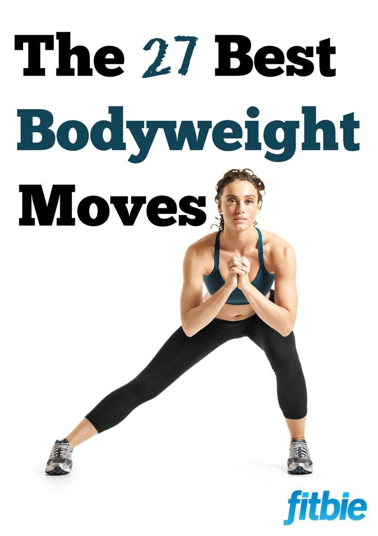 Work your arms, legs, and abs with these killer do-anywhere exercises -- no gear required!   Fitbie.com
