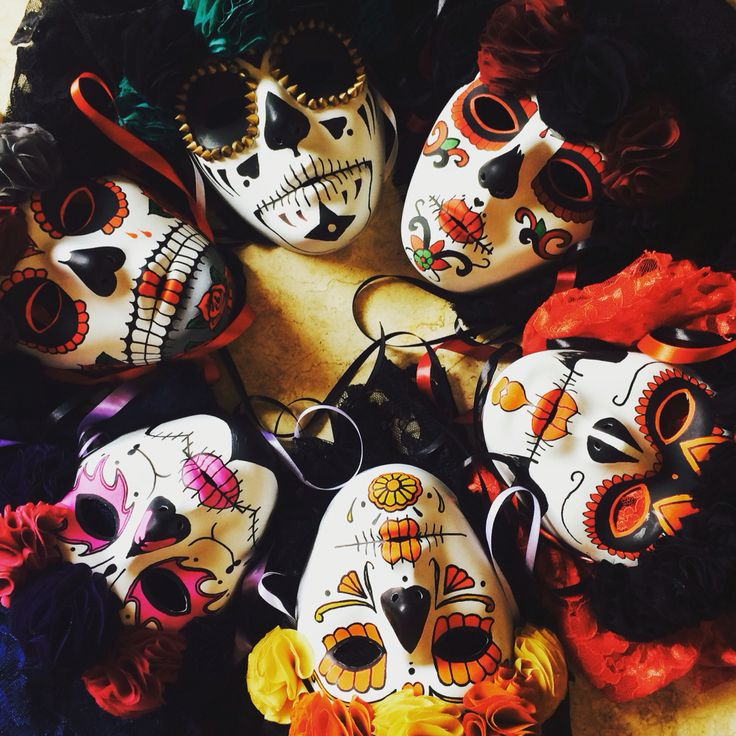 6 masks finished today & ready for sale!