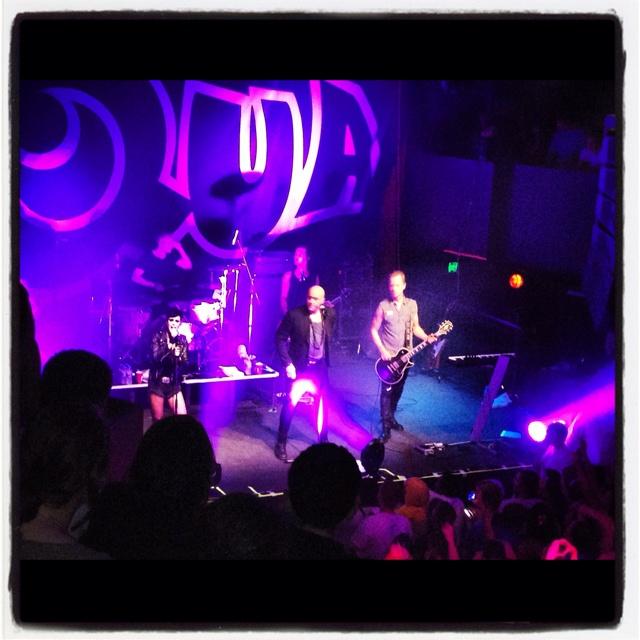 Aqua concert was amazing