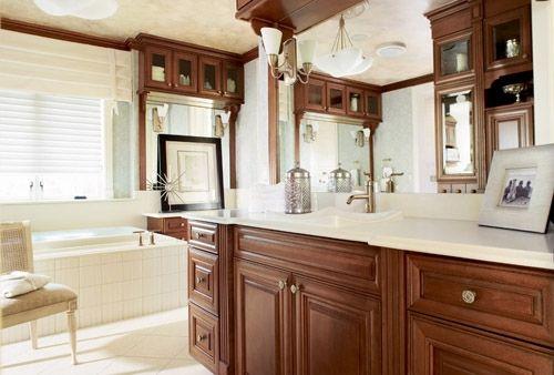 timberlake bath portfolio select series sierra vista door cherry