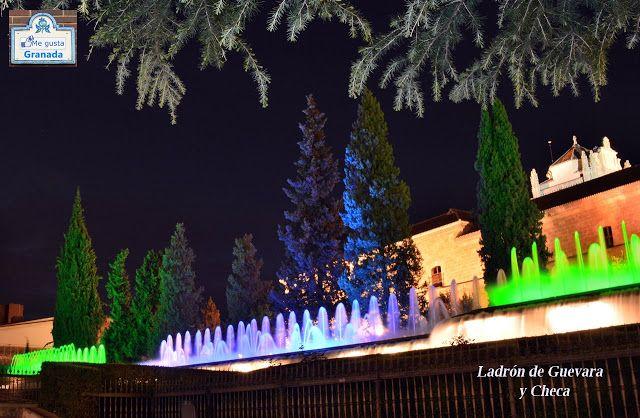 La ciudad de la Alhambra: Fuente de colores del Triunfo