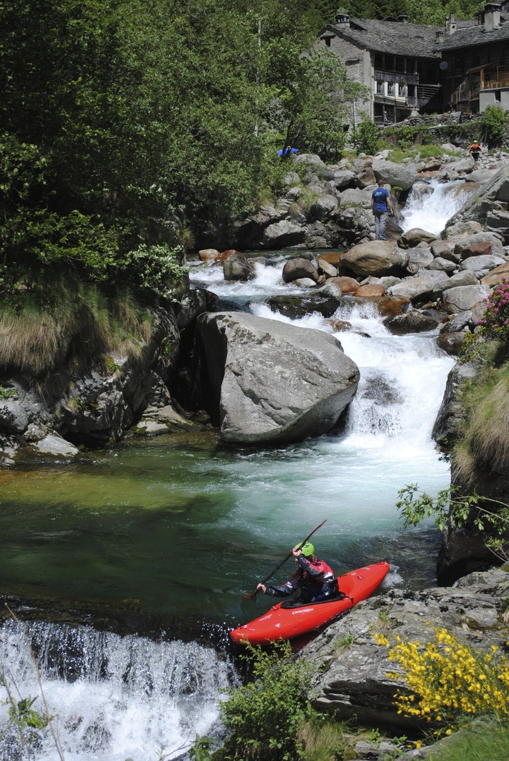 The Egua, Valsesia. Italy