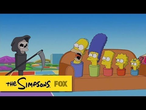 The Simpsons Travel Through 'The Game of Life' Board Game as Peg Characters in Latest Couch Gag