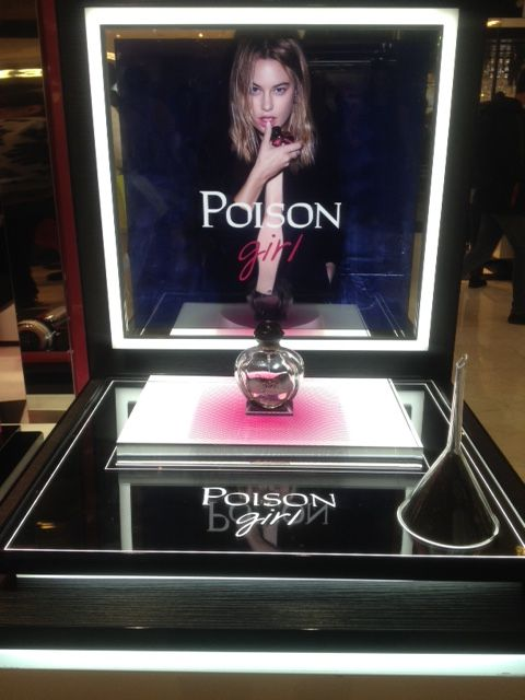 POISON GIRL GALERIES LAFAYETTE DISPLAY