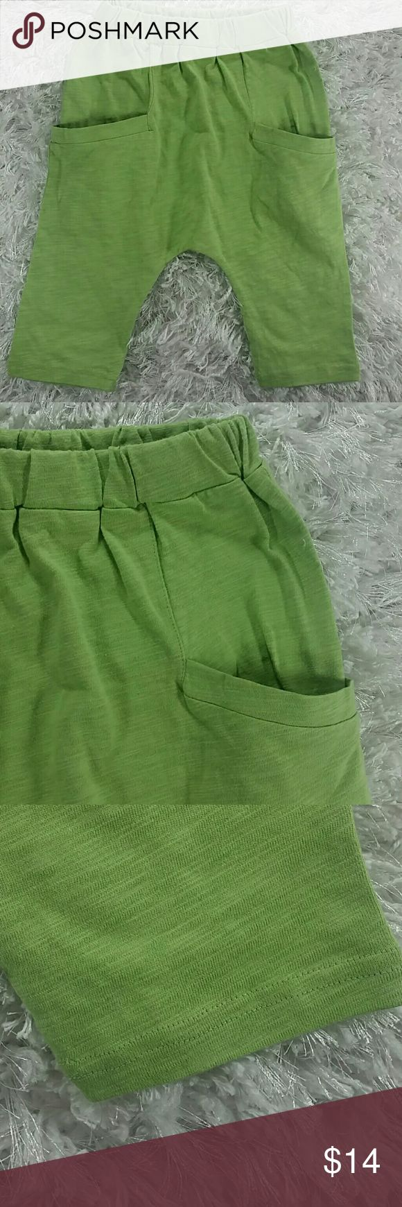 Lime green Harem pants. Kids Adorable and comfortable harem pants in lime green.  This item is brand new and never used. No tags. Bottoms Sweatpants & Joggers