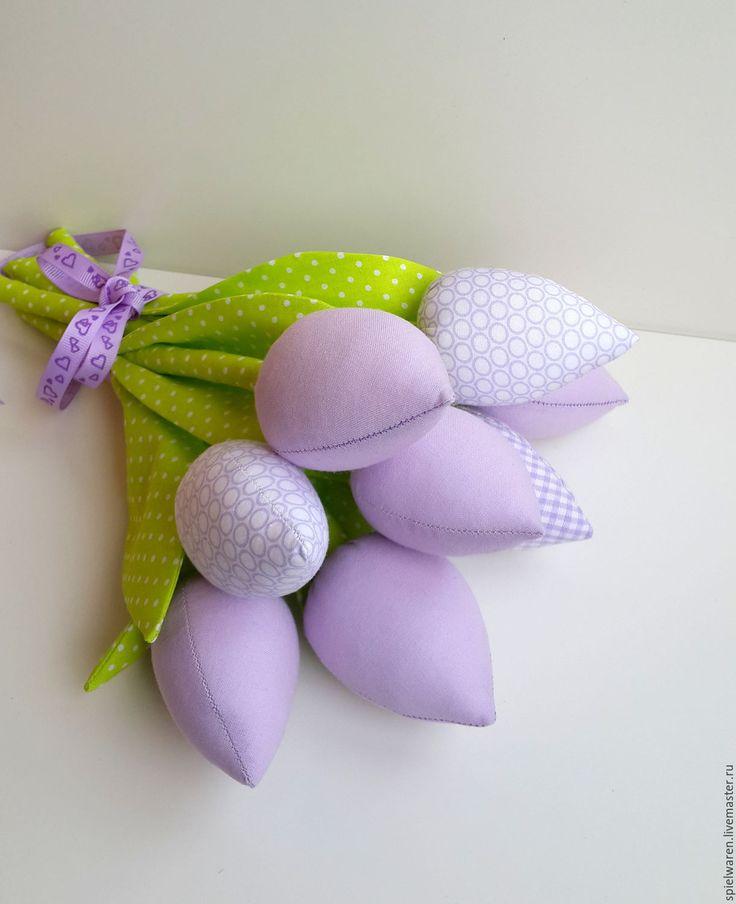 Купить Тюльпаны в стиле Тильда - комбинированный, тюльпаны, тюльпаны из ткани, тюльпаны тильда, тюльпан, цветы
