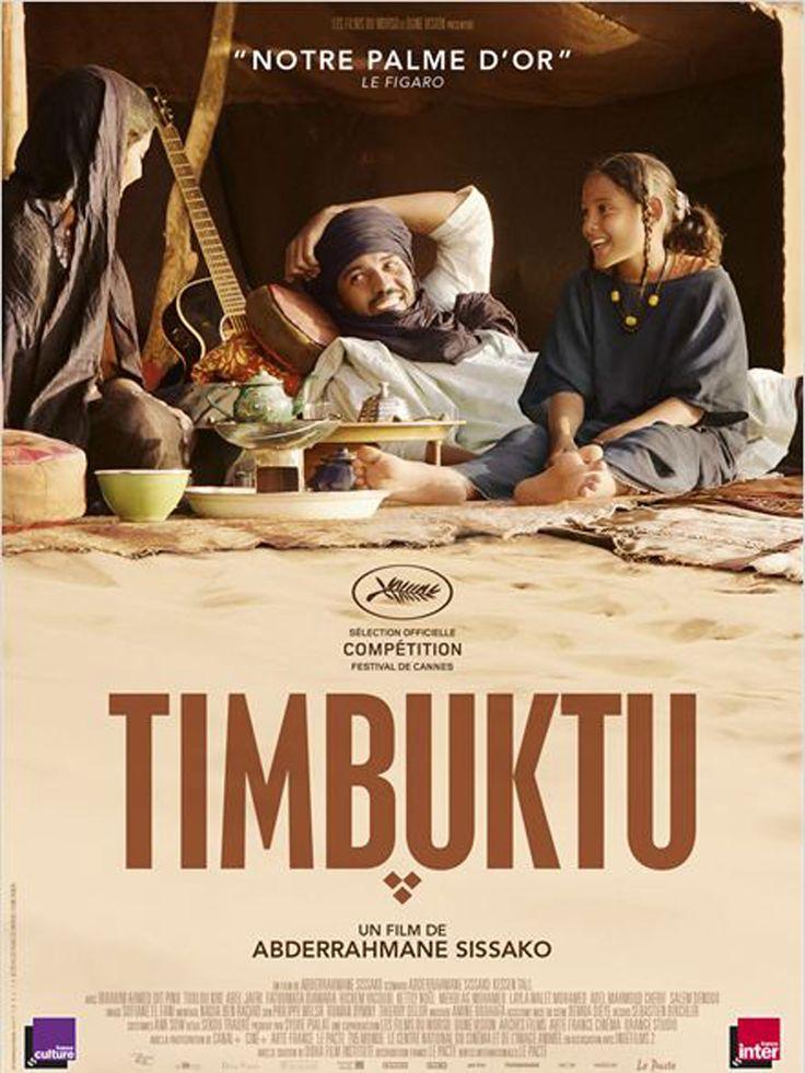 Timbuktu est un film de Abderrahmane Sissako avec Ibrahim Ahmed dit Pino, Toulou Kiki. Synopsis : Non loin de Tombouctou tombée sous le joug des extrémistes religieux, Kidane mène une vie simple et paisible dans les dunes, entouré de sa fe