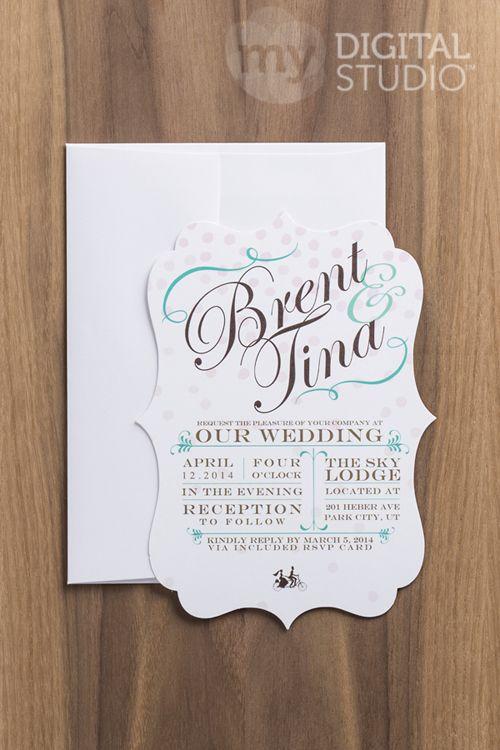 51 best Unique Invitations images – Studio Cards Wedding Invitations