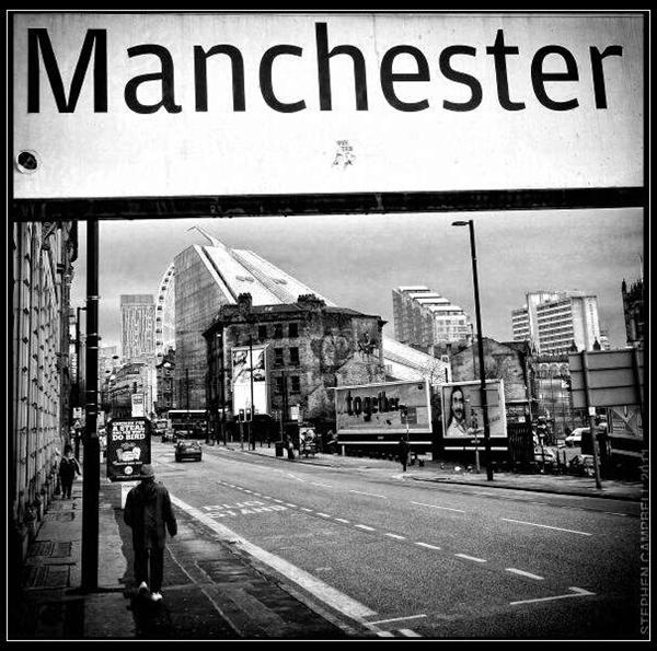 """Square Manc print which starred in the Danny Mahon video for """"This'n'That"""". #Manchester http://www.stephencampbellphotography.co.uk/"""