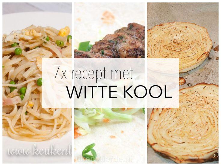7x recept met witte kool