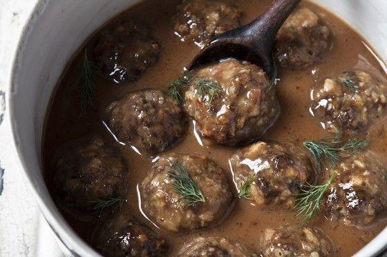 hairy dieters (good eating) Swedish meatballs