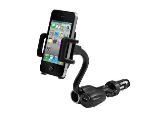 Sprint HTC Evo 3D compatible Universal Car Mount Lighter Socket Dock with USB and Charging Plug Universal Car Mount. 3 in 1 high quality product, USB power port and DC 12V car lighter plug and Holder Cradle Mount.. Slide arms to adjust for universal fitting for desired devices. No extra tools needed, easy to install.. Dedicated holder can be adjusted up to 360 degrees, ideal for use in portrait or... #AccessoryChoice #Wireless