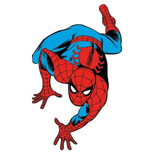 Spider Man Marvel Classics Peel And Stick Giant Wall Decal Part 52