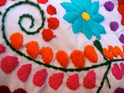 Bobbypin Bandit: Mexican Embroidery