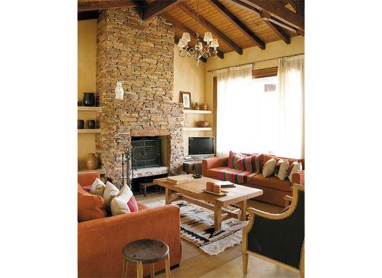 17 mejores im genes sobre living ideas de decoracion y - La casa de la chimenea ...