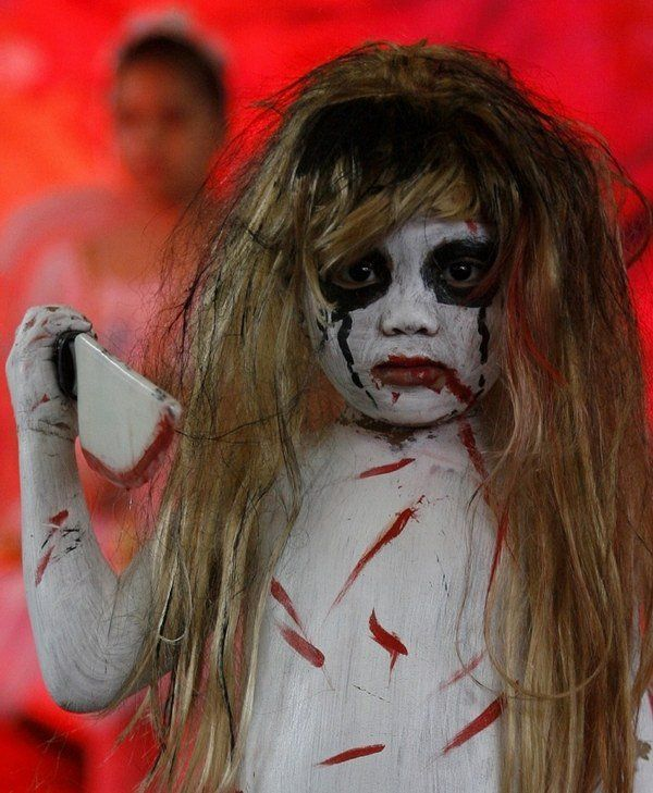 scary zombie halloween costumes ideas for kids halloween party