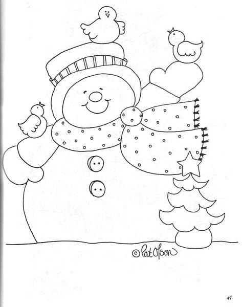 Manualidades moldes navideñas - Imagui