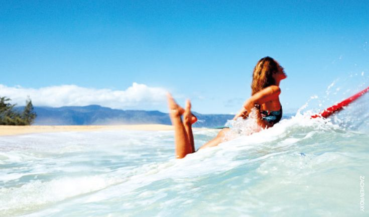Tips on how to improve your paddle power on the SurfGirl website