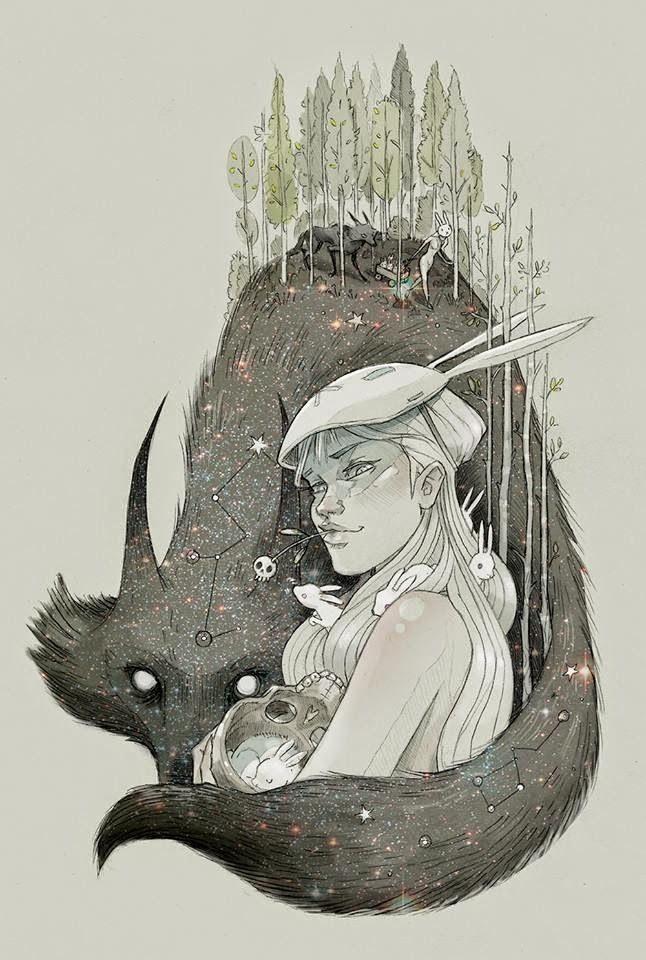 Chiara Bautista  est une graphiste illustratrice Mexicaine qui travaille aux USA.    À travers ses dessins, elle réussit à raconter...