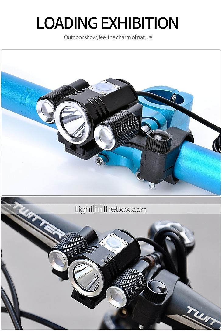 Bike Light Front Bike Light Headlight Led Bicycle Cycling