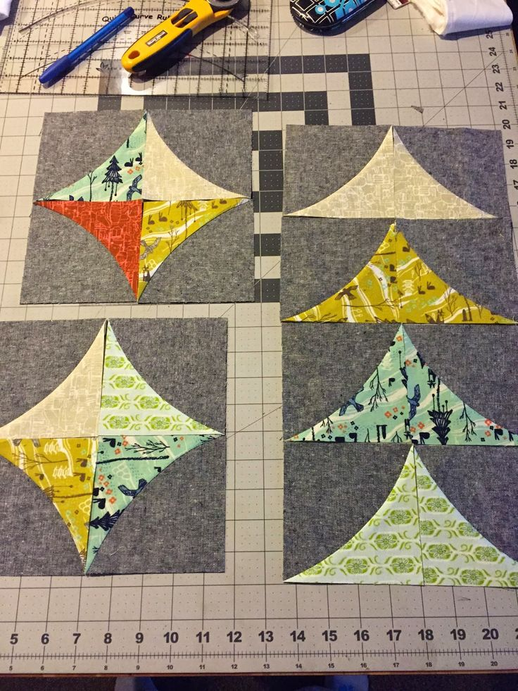 Sew Kind Of Wonderful: FYI Friday curvy geese - curve it up pattern