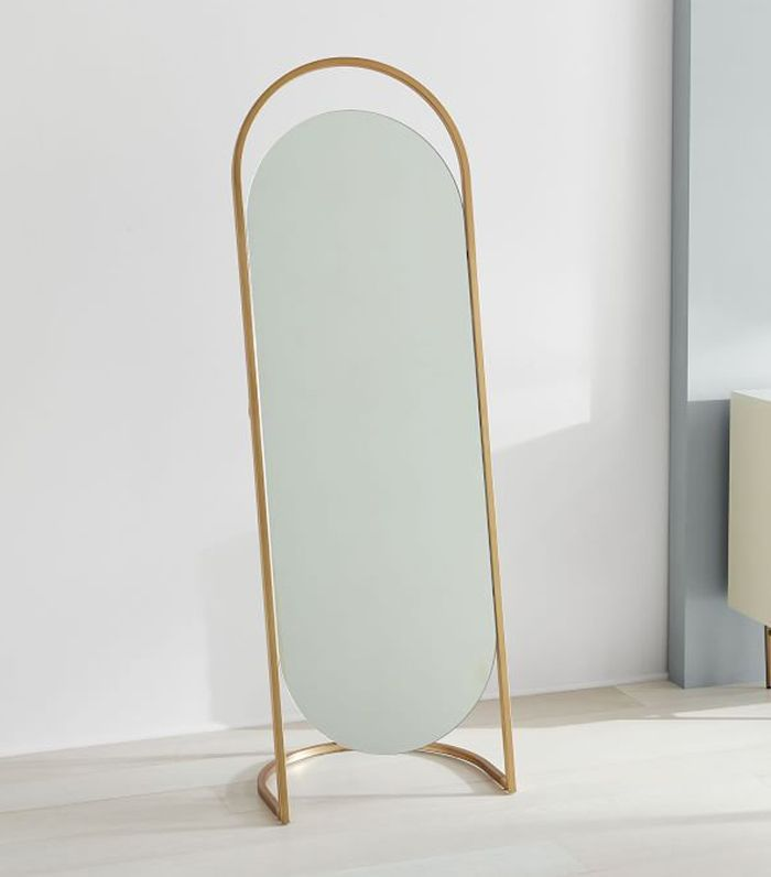 Small Space Hack These 12 Standing Mirrors Play Double Duty
