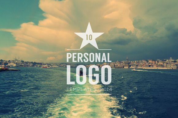 10 Personal Name Logos by Jack_Piingu on Creative Market